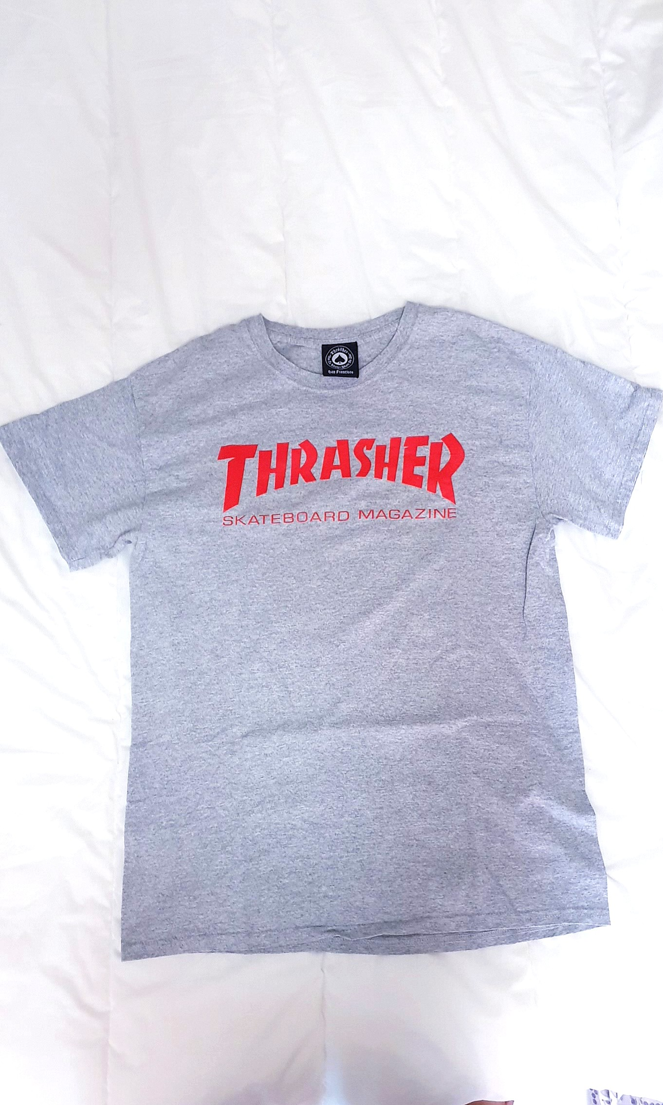 0e88abe78c55 Thrasher Tee Authentic, Men's Fashion, Clothes, Tops on Carousell