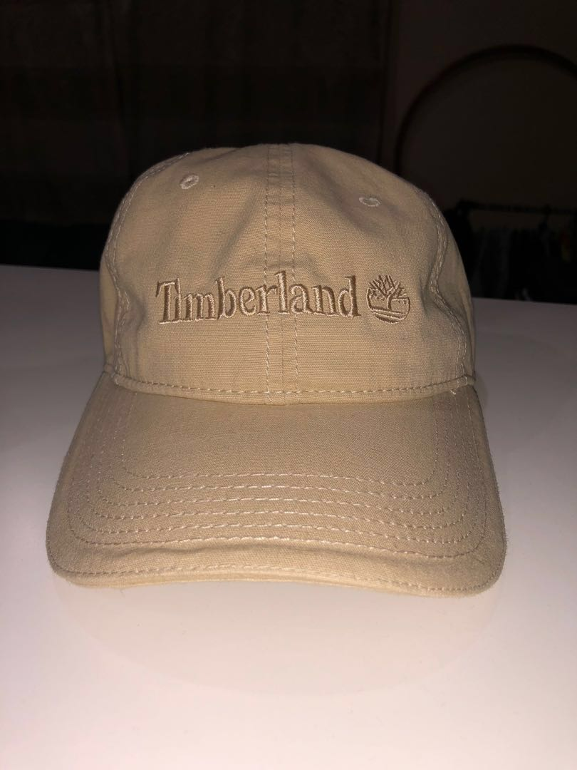 ec861cffe6b Timberland Logo Cap, Men's Fashion, Accessories, Caps & Hats on ...