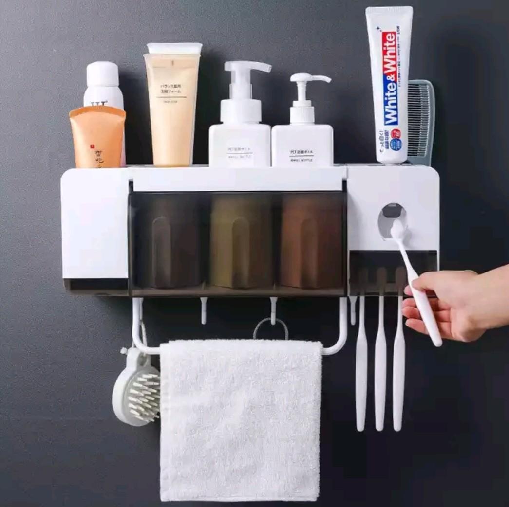 Toilet Bathroom Toothbrush Holder