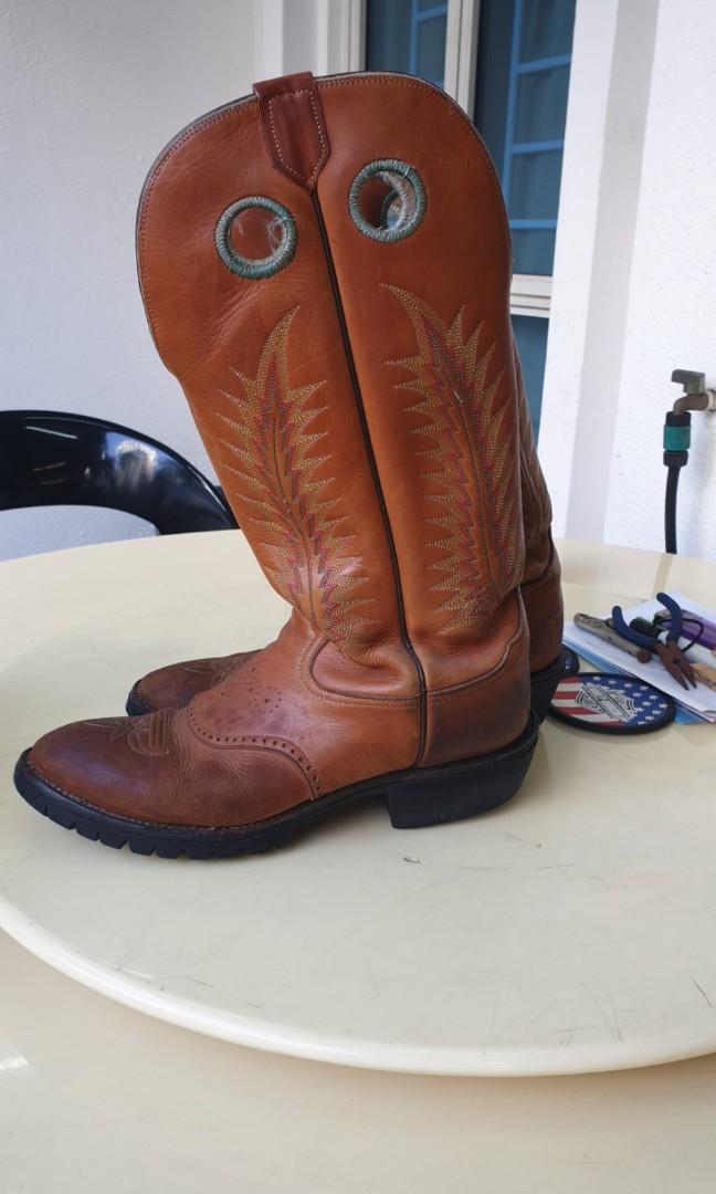 932d49f6ef6 Tony Lama Western/Biker Boots