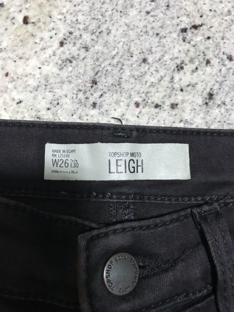 de8d8cf6 TOPSHOP MOTO LEIGH BLACK SKINNY JEANS, Women's Fashion, Clothes ...