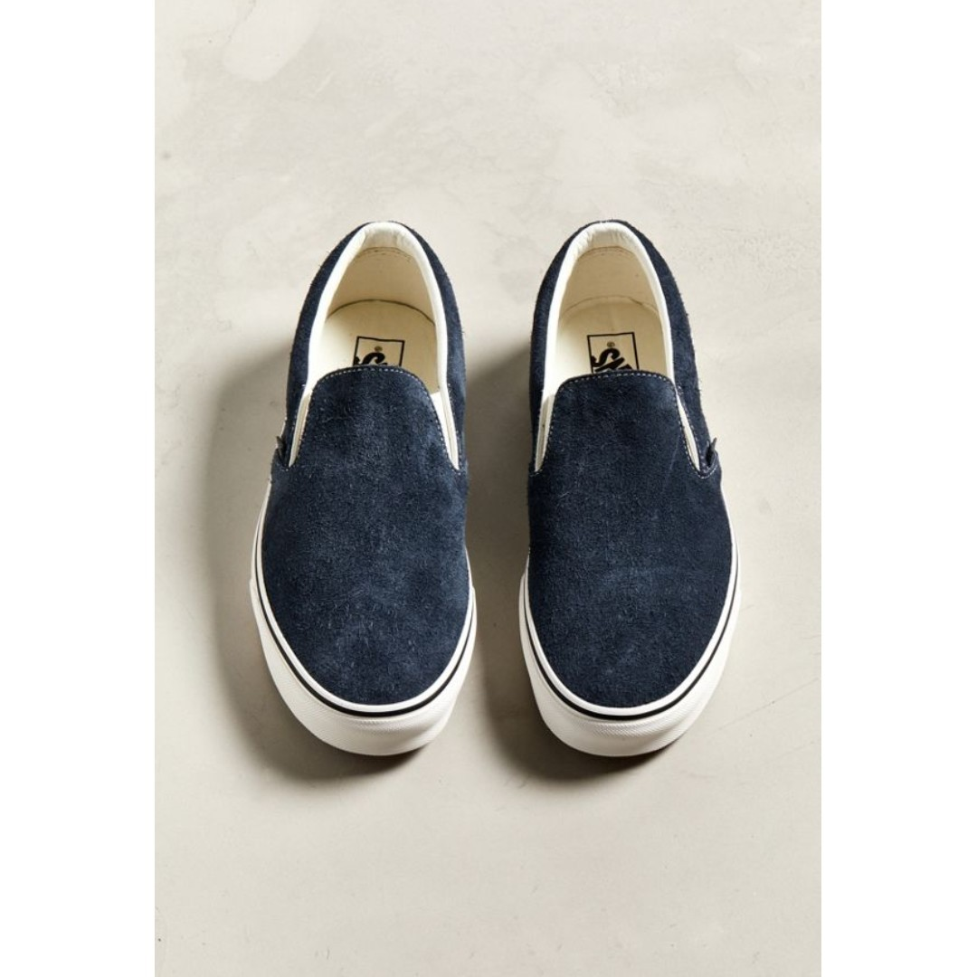 788b5a5accd3d6 Vans Classic Slip-On Hairy Suede Sneaker
