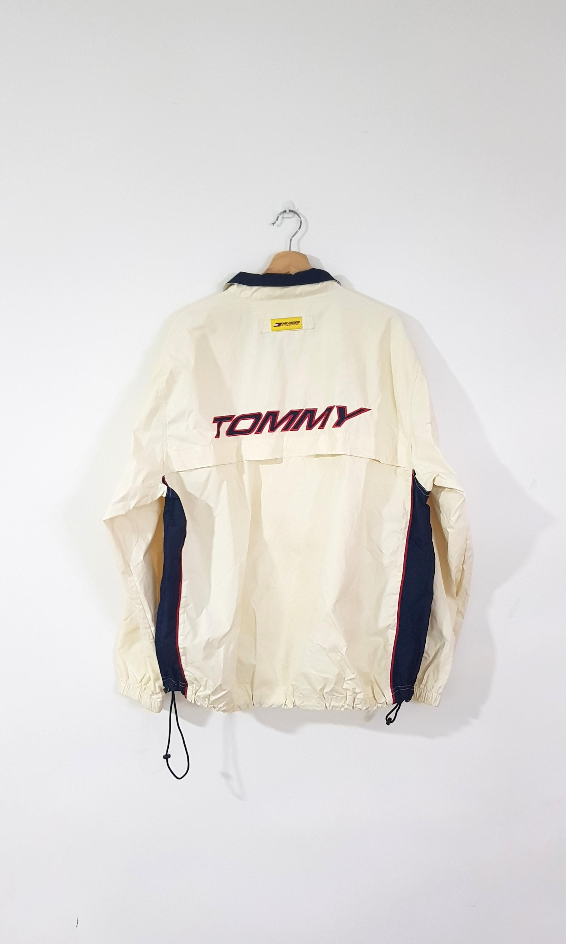 46c06878 Vintage Tommy Hilfiger Athletics Spellout Windbreaker, Men's Fashion ...