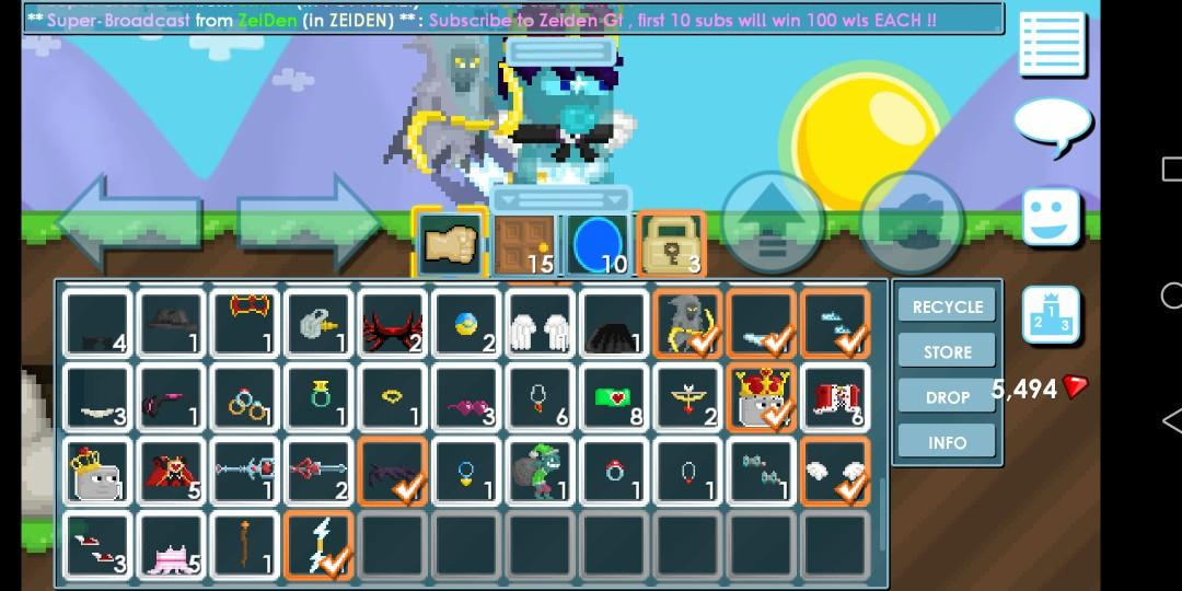 Selling Pro Growtopia Account Toys Games Video Gaming In Game Products On Carousell