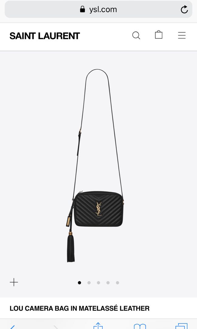 76806e8639 YSL Sling Bag, Luxury, Bags & Wallets, Sling Bags on Carousell