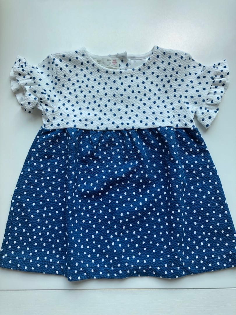 c5f1e6b1d390 Zara Kids Baby Dress, Babies & Kids, Babies Apparel on Carousell