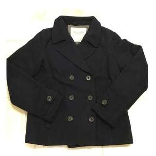 A&F Abercrombie & Fitch 外套 羊毛 Wool Jacket Peacoat 褸