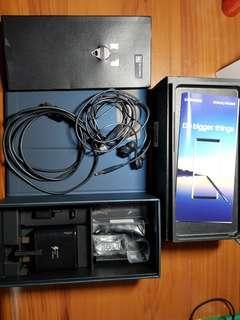 Samsung note 8 64gb + 64gd high speed sd card