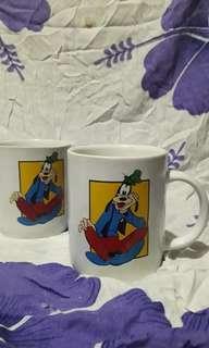 Cangkir / Gelas / Mug Couple Disney Goofy