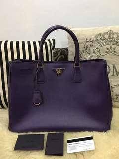 Authentic Prada Saffiano Lux