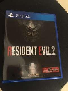 PS4 Resident Evil 2 Remake PS4 Game R3 💯 Original
