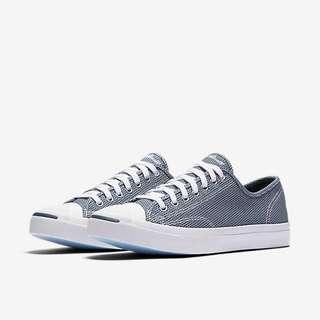 Jack Purcell Woven Textile Low Top Shoes Navy/White
