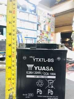 YUASA YTX7L-BS