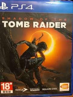 放PS4 Shadow of the tomb rader