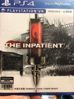 放PS4 The inpatient