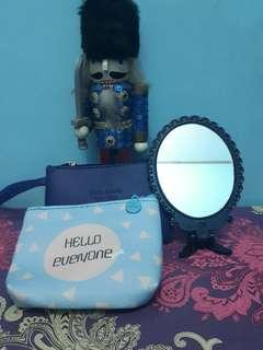 Coin Purse & Butterfly Mirror