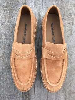 Timberland 牛麂皮羅福鞋