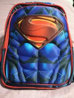 🚚 Superman school bag