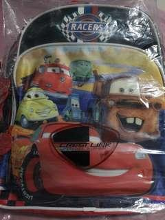🚚 Lighting mcqueen school bag