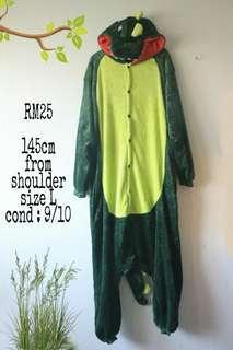 Sleepsuit oneseis crocodile costume