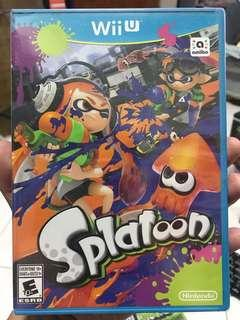 Wii U games Splatoon