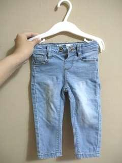 Baby Jeans Tiny Button 12m+
