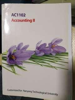 🚚 AC1102 Accounting 2 Textbook