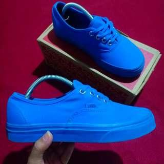 Vans Authentic Primary Mono Blue