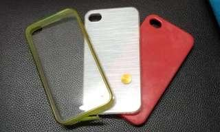 [Free Post sm] Iphone 4s casing 3in1 #MMAR18