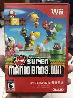 Wii games New super mario bros wii