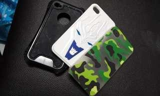 [free post sm] iPhone 4s hard casing 3in1 #MMAR18