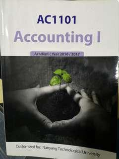 🚚 AC1101 Accounting 1 Textbook