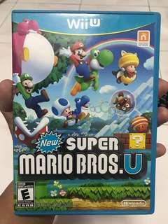 Wii U game New Super Mario Bro U