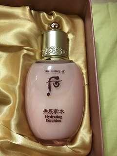 🚚 The History of WHOO Gongjinhyang Soo Soo Yeon Lotion/Hydrating Emulsion