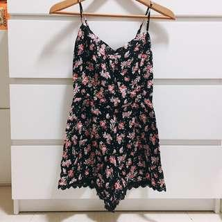 🚚 Flowers Printed Romper