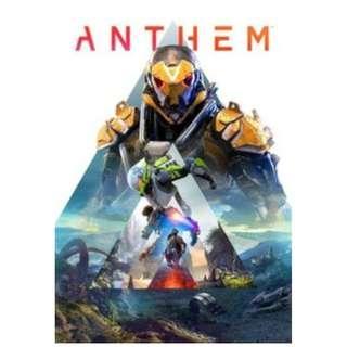 Anthem 冒險聖歌 標準繁體版 (N卡送GAME)