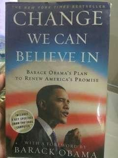 🚚 Change We Can Believe In: Barack Obama's Plan to Renew America's Promise