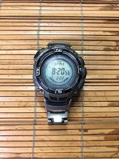 🚚 PROTREK初期Lec PRW-1500TJ-7JF卡西歐CASIO手錶初期Lec正規的物品