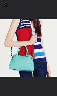 Kate Spade Charles Street Mini Audrey Crossbody bag in Fresh Air