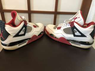 new styles 6c372 b96a9 Air Jordan 4 Retro, Men s Fashion, Footwear, Sneakers on Carousell