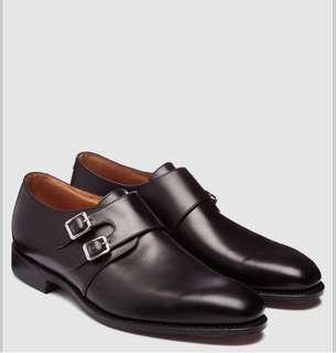 🚚 Loake Monk Shoes 11EU 45 孟克鞋 英國製