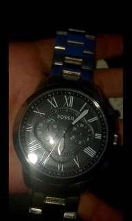 Fossil Men's grant watch new
