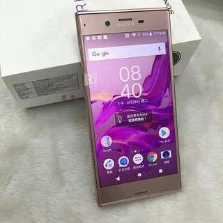 Sony xz 64G 5.2吋 山茶花粉