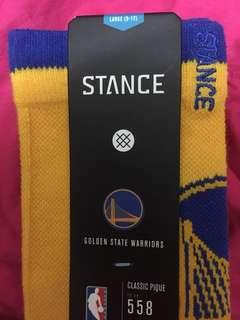 🚚 Stance NBA 🇺🇸 美國 職籃 金州 勇士 運動襪 休閒襪 長襪 總冠軍