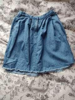 FC DENIM SKIRT