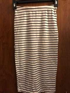 Brand new high waisted skirt with tag