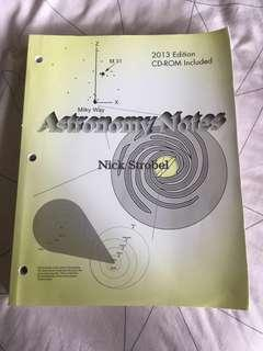 Astronomy Notes - Nick Stobel