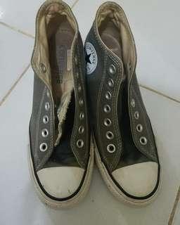Sepatu Converse Ct lux mid (wedges)