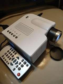 新機 Led投影機 projector image system 60吋