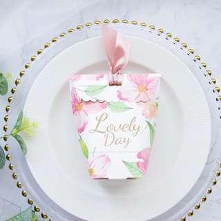 🚚 Printed Design Candy Paper Gift Box - Lovely Day